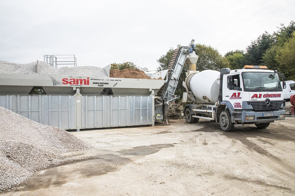 A1 Concrete Ready Mix Truck